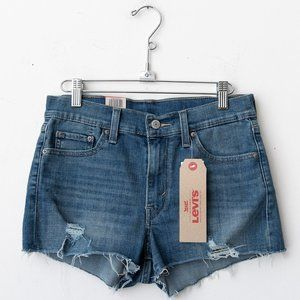 NWT Levi's High Rise Short 27